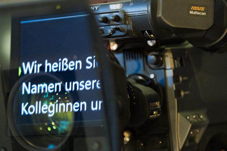 TV Studio Livestreaming Hannover
